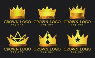 Crown Logo Vektoren