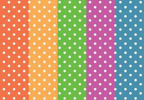 Dots Colorful Pattern Vector