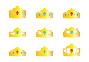 Gold Crown Vectors