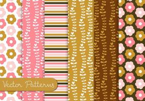 Chocolate Pink Pattern Set
