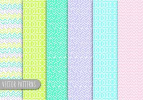 Line Art Patterns  vector