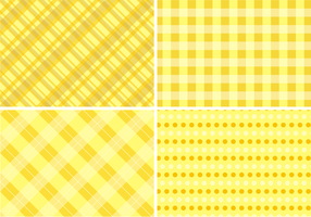 Amarillo Table Cloth Fondos Vector Libre
