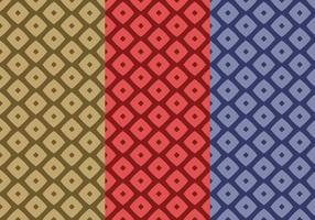 Vetor de padrão sem costura Lozenge livre