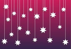Falling Star Background Vector