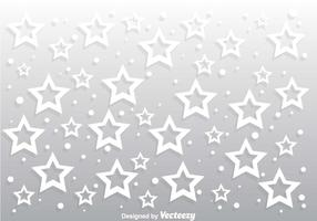Star Gray Background Vector