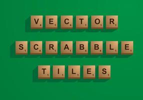 Carrelage Scrabble Vector