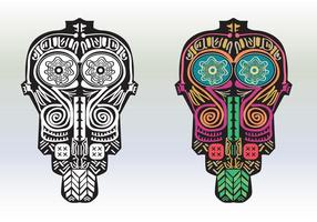 Boho Masks vector