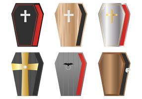 Dracula Coffin Vectors