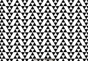 Black And White Triangles Pattern vector