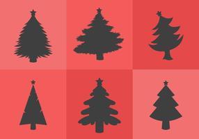 Weihnachtsbaum Silhouette