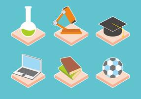 Campus Life Vector Icons
