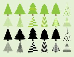 Christmas Trees Silhouette.Christmas Tree Silhouette Free Vector Art 660 Free Downloads
