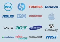 Computer Brand Vectors