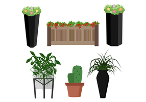 Gratis Planter Vector