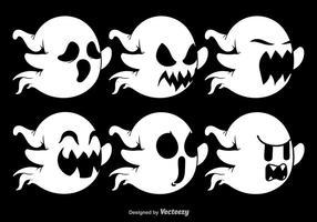 Vários personagens fantasmas