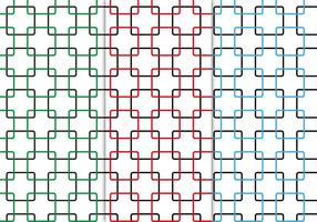 Free Seamless Squares Pattern Vector