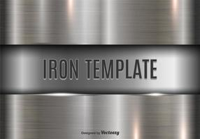 Iron template vector