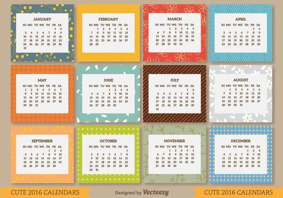 Как сделать календарь на фоне