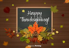 Thanksgiving Achtergrond Vector