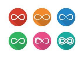Infinito Loop Vectores