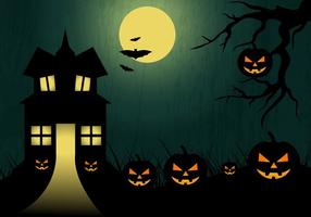 Halloween Vektor Bakgrund