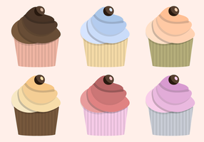 Vector Cupcake grátis