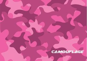 Pink Camo Pattern Vector