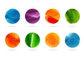 Vector formas abstractas