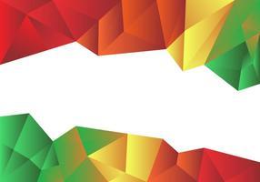 Kleurrijke Lage Poly Vector Achtergrond