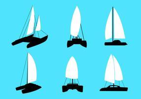 Vetores de catamarã