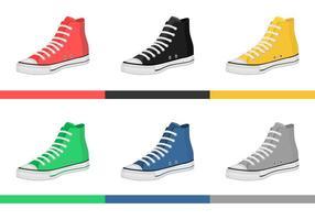 Vectores De Los Zapatos De Los Hombres