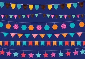 Festival Bandera vectores