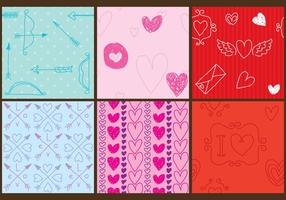 Love Pattern Vectors