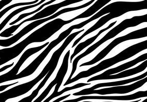 Zebra Print Achtergrond Vector