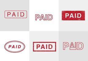 Selos de vetores pagos