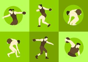 Discus Thrower Vectors