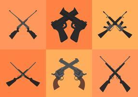 Pistolets croisés