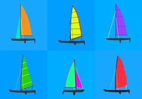 Course de catamaran