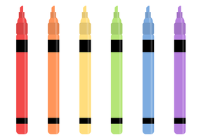 Free Markers Vector