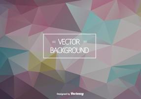 Zusammenfassung polygonalen Vektor Hintergrund