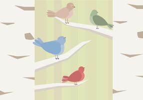Gratis fågelvektor