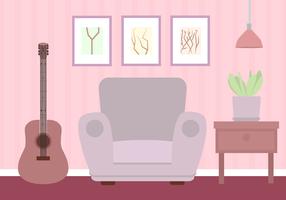 Vector libre de la sala de estar
