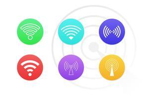 Wifi Symboler Vector Ikoner Gratis Pack