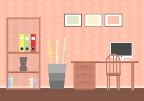 Freie Wohnzimmer Vektor
