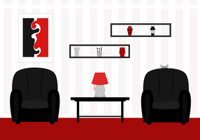 Free Living Room Vector