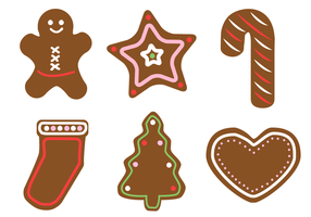 Gratis Gingerbread Vector