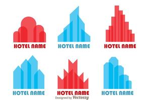 Hotels logo vectoren
