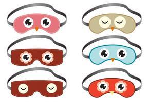 Vecteurs de masque de sommeil