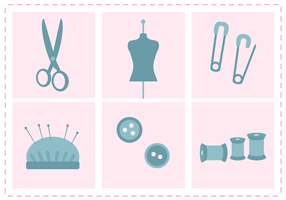 Free Sewing Kit Vector