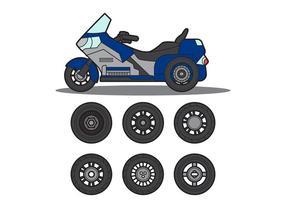 Free Motor Trike Vector